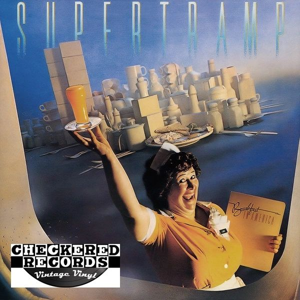 Supertramp Breakfast In America First Year Pressing 1979 US A&M Records SP-3708 Vintage Vinyl Record Album