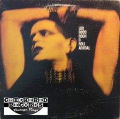 Lou Reed Rock N Roll Animal First Year Pressing 1974 US RCA Victor ‎Dynaflex APL1-0472 Vintage Record Album