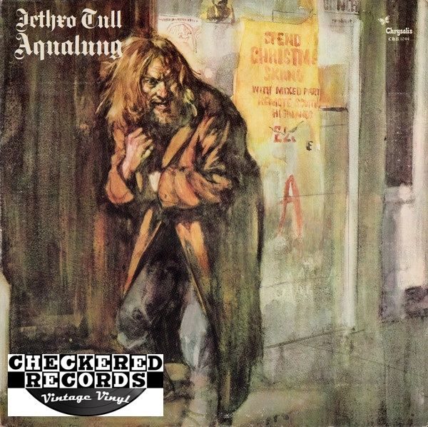 Jethro Tull ‎Aqualung First Year Pressing 1971 RE US Chrysalis CHR 1044 Vintage Record Album