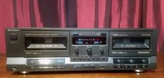 Vintage Technics RS-TR515 Double Dual Stereo Cassette Tape Deck Tested