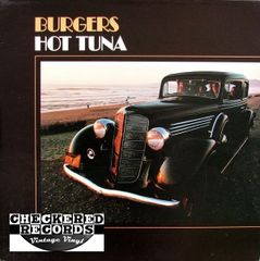 Hot Tuna Burgers First Year Pressing 1972 US Grunt FTR-1004 Vintage Vinyl Record Album