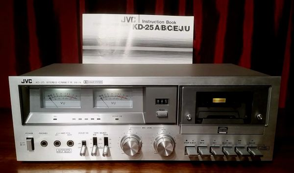 Vintage 1978 JVC KD-25J Stereo Cassette Deck