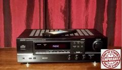 Vintage Denon DRA-375R AM/FM Audio Video Stereo Receiver With Remote and Turntable Phono Hook Up