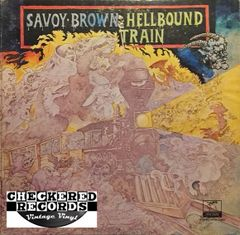 Savoy Brown ‎Hellbound Train First Year Pressing 1972 US Parrot ‎XPAS 71052 Vintage Vinyl Record Album