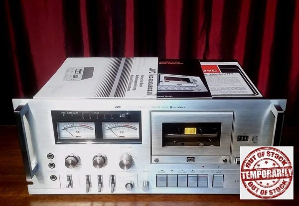 Vintage 1979 JVC KD-3030 Stereo Cassette Deck RARE
