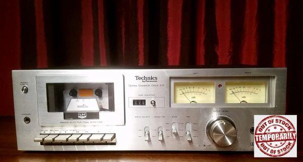 Vintage 1978 Technics RS-616 Stereo Cassette Deck