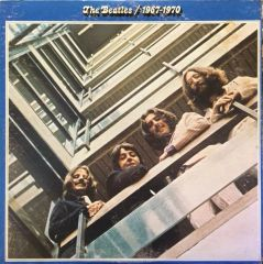 The Beatles 1967-1970 First Year Pressing 1973 US Apple Records SKBO 3404 Vintage Vinyl Record Album