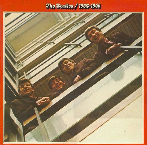 The Beatles 1962-1966 First Year Pressing 1973 US Apple Records SKBO 3403 Vintage Vinyl Record Album