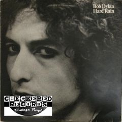 Bob Dylan Hard Rain First Year Pressing 1976 US Columbia PC 34349 Vintage Vinyl Record Album