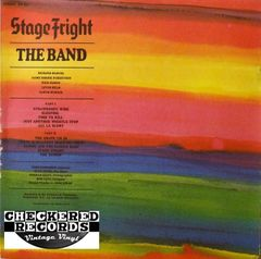 The Band Stage Fright First Year Pressing 1970 US Capitol Records SW-425 Vintage Vinyl Record Album