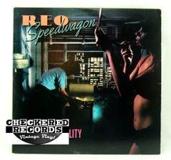 Vintage REO Speedwagon Hi Infidelity Epic FE 36844 1980 NM Vintage Vinyl LP Record Album