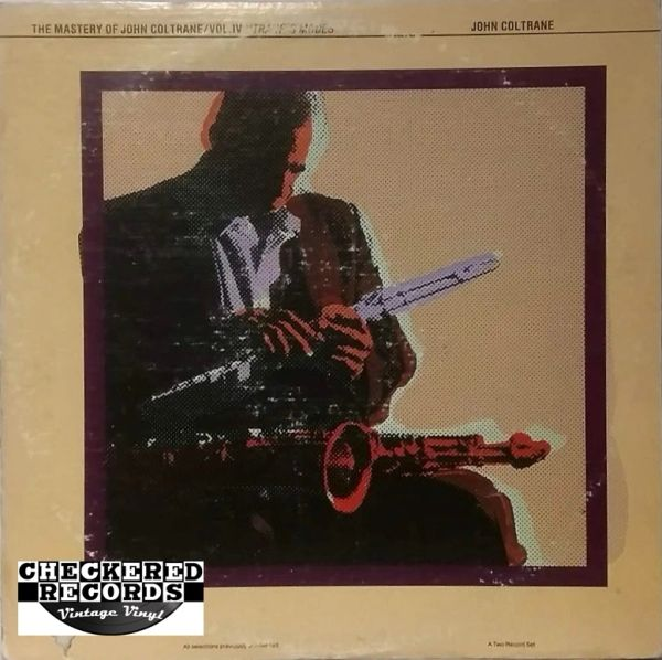 John Coltrane The Mastery Of John Coltrane Vol. IV 'Trane's Modes' 1979 US Impulse! IZ-9361 Vintage Vinyl Record Album