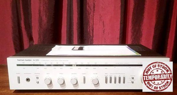 Vintage Harman Kardon HK330i Ultra Wideband Linear Phase Stereo Receiver