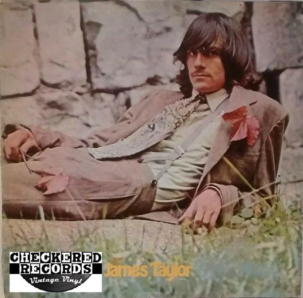 James Taylor James Taylor 1969 US Apple Records SKAO-3352 Vintage Vinyl Record Album