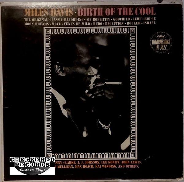 Miles Davis Birth Of The Cool 1963 US Capitol Records T 1974 Vintage Vinyl Record Album