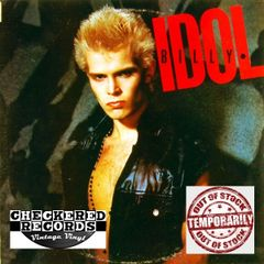 Vintage Billy Idol Billy Idol Self Titled 1983 Pressing 1983 US Chrysalis FV 41377 Vintage Vinyl LP Record Album