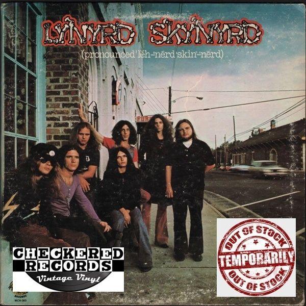 Vintage Lynyrd Skynyrd (Pronounced 'Lĕh-'nérd 'Skin-'nérd) First Year Pressing 1973 US MCA Records Sounds Of The South MCA-363 Vinyl LP Record Album