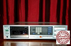 Vintage Sony STR-VX550 100 Watt Audio Video Control Receiver With Phono Hook Up
