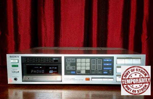 Vintage Sony STR-VX550 100 Watt Audio Video Control Receiver With Phono Hook Up