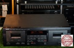 Vintage Yamaha KX-W392 Natural Sound Stereo Double Cassette Deck Player Recorder
