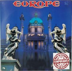 Vintage Europe Europe Self Titled Epic E 45093 1989 US Vintage Vinyl LP Record Album