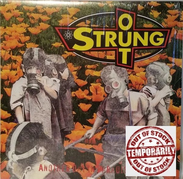 RARE # 517 of 570 Strung Out Another Day In Paradise Color Classics Clear Orange Vinyl 2008 US Fat Wreck Chords FAT 517-1 Vintage Vinyl LP Record Album