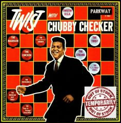 Vintage Chubby Checker Twist With Chubby Checker First Year Pressing 1960 US Parkway P 7001 Vintage Vinyl LP Record Album