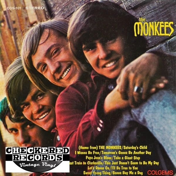 The Monkees The Monkees First Year Pressing 1966 US Colgems COS-101 Vintage Vinyl Record Album