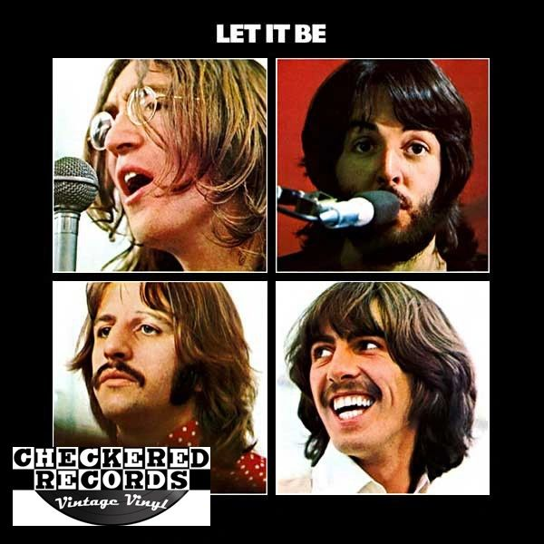 The Beatles Let It Be First Year Pressing 1970 US Apple Records AR 34001 Vintage Vinyl Record Album