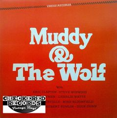 Muddy Waters And Howlin' Wolf Muddy & The Wolf 1984 US Chess CH-9100 Vintage Vinyl Record Album