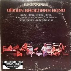 The Allman Brothers Band ‎Beginnings First Year Pressing 1973 US ATCO Records ‎SD 2-805 Vintage Vinyl Record Album