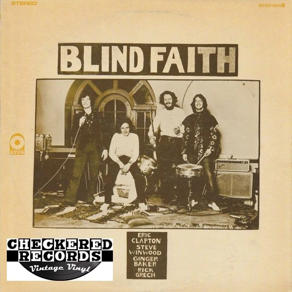 Blind Faith Blind Faith First Year Pressing 1969 US ATCO Records ‎SD 33-304 Vintage Vinyl Record Album