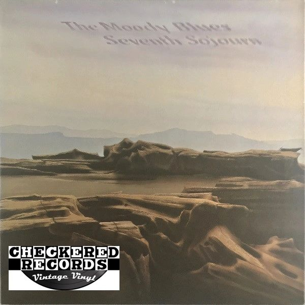 The Moody Blues Seventh Sojourn First Year Pressing 1972 US Threshold THS 7 Vintage Vinyl Record Album
