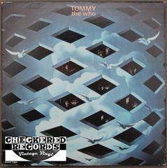 The Who Tommy 1972 US Decca DXSW 7205 Vintage Vinyl Record Album