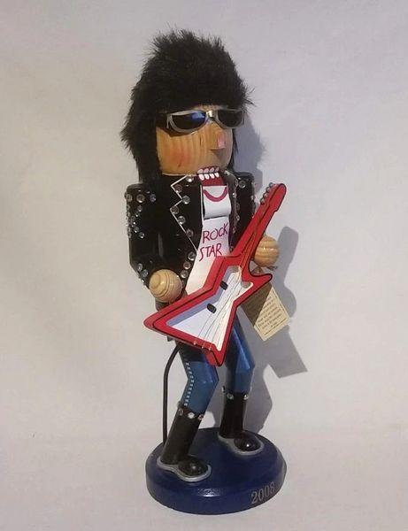 2008 Limited Edition Rock Star Nutcracker