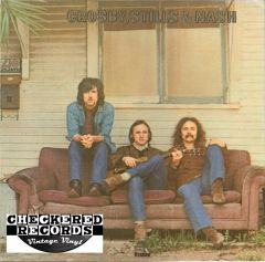 Crosby, Stills & Nash ‎Crosby, Stills & Nash 1977 US Atlantic ‎SD 19117 Vintage Vinyl Record Album