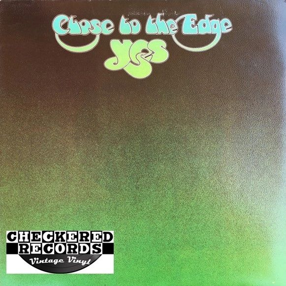 Yes ‎Close To The Edge First Year Pressing 1972 US Atlantic SD 7244 Vintage Vinyl Record Album