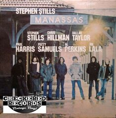 Stephen Stills Manassas First Year Pressing 1972 US Atlantic ‎SD 2-903 Vintage Vinyl Record Album
