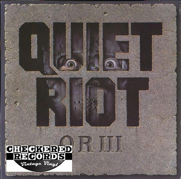 Quiet Riot QR III First Year Pressing 1986 US Pasha OZ 40321 Vintage Vinyl Record Album