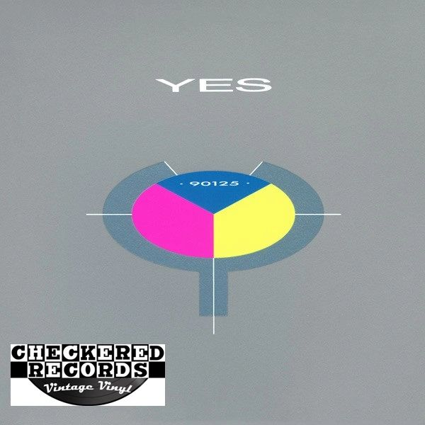 Yes 90125 First Year Pressing 1983 US ATCO Records ‎90125-1 Vintage Vinyl Record Album