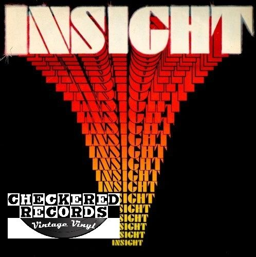 Vintage Insight Insight Self Titled Sight Records Sight 002 First Year Pressing Wakefield Pressing US 1987 Vintage Vinyl LP Record Album