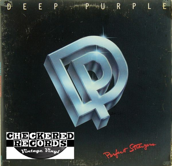 Deep Purple Perfect Strangers First Year Pressing 1984 US Mercury 824 003-1 M-1 Vintage Vinyl Record Album