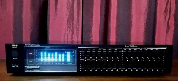 Vintage MCS Digital 5000 Series Seven Band Equalizer EQ