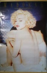 Vintage 1990 Madonna Blonde Ambition World Tour Poster Winterland Productions OSP Publishing