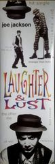 Vintage 1991 Joe Jackson Laughter & Lust Promotional Poster