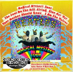 Vintage The Beatles Magical Mystery Tour First Year Pressing 1967 US Capitol SMAL 2835 Vintage Vinyl Record Album