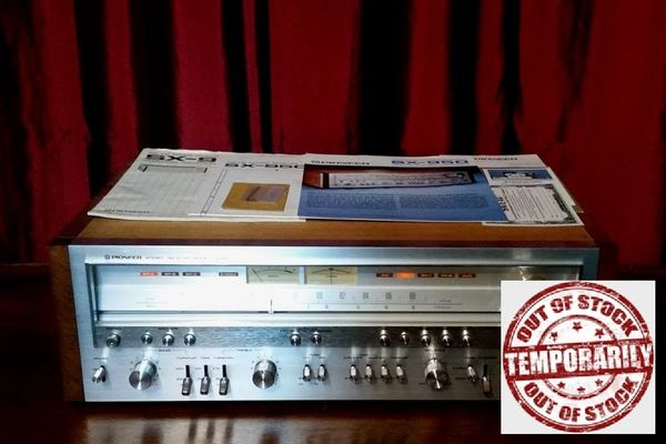 Vintage Pioneer SX-950 AM/FM Stereo Receiver Amplifier