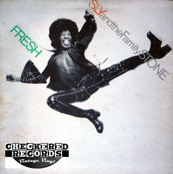 Sly & The Family Stone ‎Fresh First Year Pressing 1973 US Epic ‎KE 32134 Vintage Vinyl Record Album