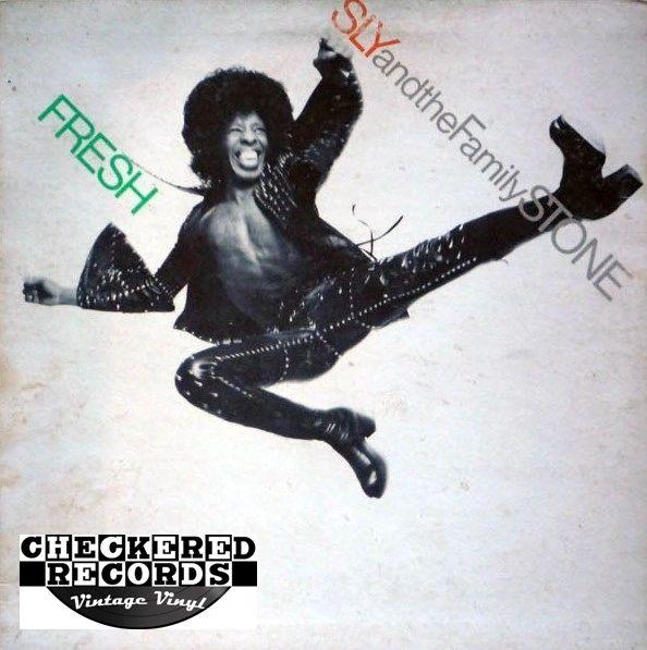 Sly & The Family Stone Fresh First Year Pressing 1973 US Epic KE 32134 Vintage Vinyl Record Album