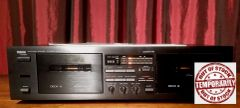 Yamaha K-60 Natural Sound Stereo Double Cassette Tape Deck Player Recorder